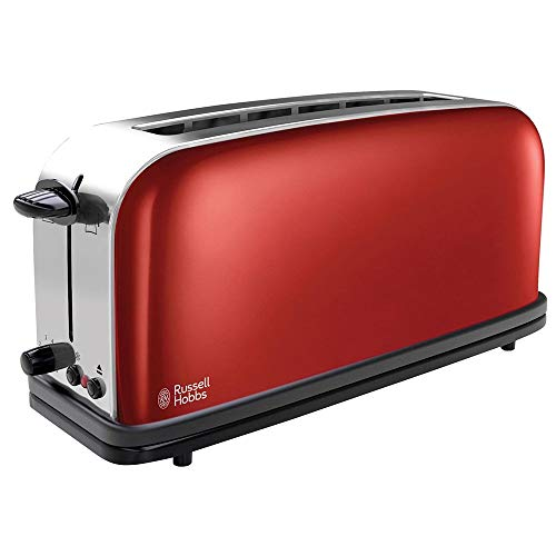 Russell Hobbs Colours Plus - Tostadora (Ranura Larga y Ancha, para 2...